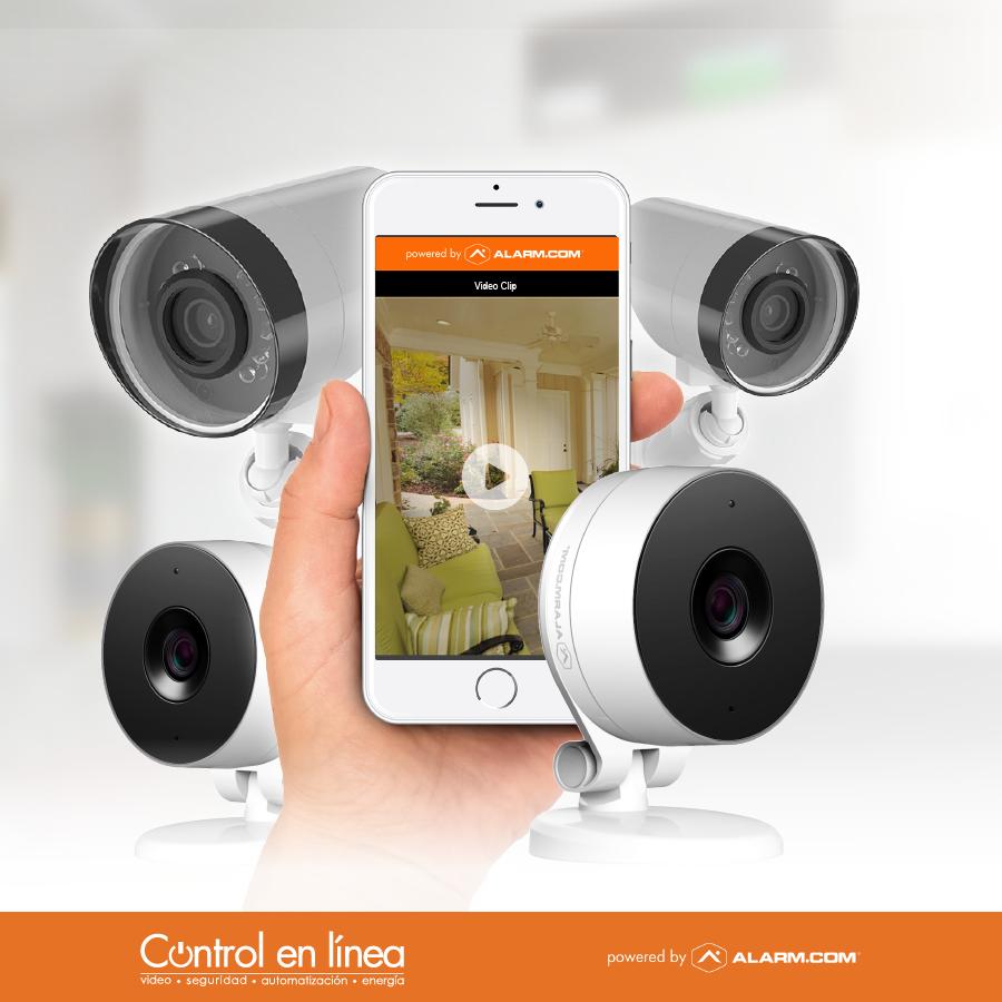 Cámaras Wifi Ext + Inter Con Infrarrojo Y Servicio Anual